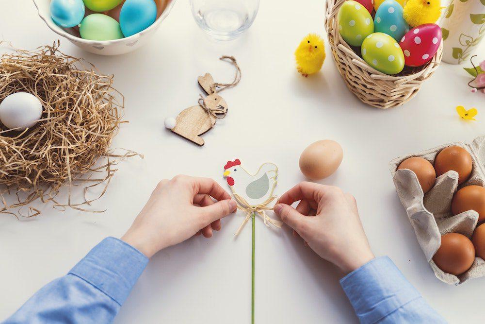10 süße Osterbasteleien für Kinder